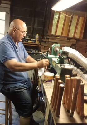 #ShopLocal: Vietnam Veteran, Middletown's Paul DeSaro Makes Exquisite Custom Design Wood Pens.