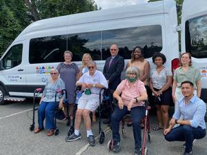JESPY House Receives Grant from The Healthcare Foundation of NJ for Accessible Van