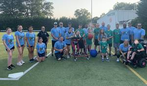 Buddy Ball Closes Season with Game Against First Responders