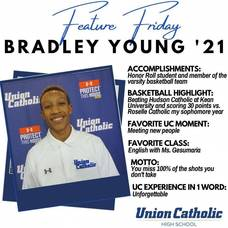 Bradley Young Poised For Big Basketball Season at Union Catholic