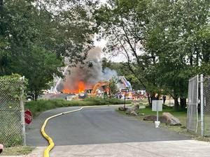Fire Breaks Out at Cranford Conservation Center Wednesday Evening