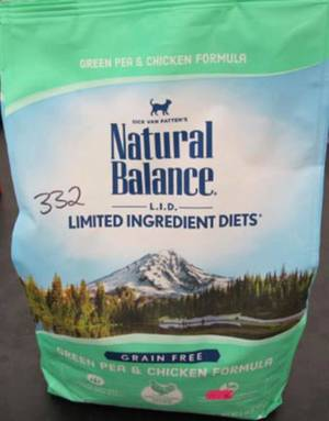 Natural Balance Dry Cat Food Recalled Due to Possible Salmonella Contamination