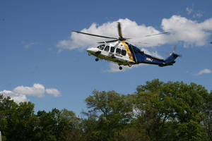 Medevac Transports 8-Yr-Old Burn Victim