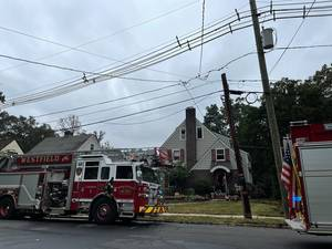 Crews Extinguish House Fire in Westfield Wednesday Morning