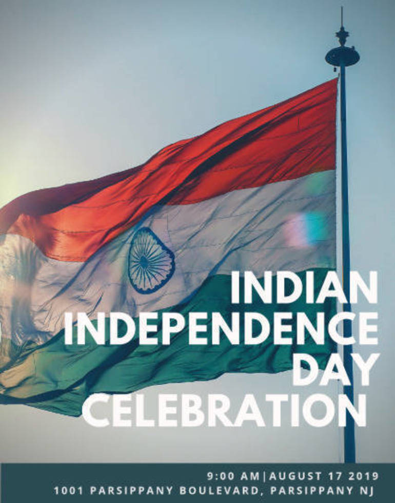 Indian Independence Day Celebration in Parsippany August 17 | TAPinto