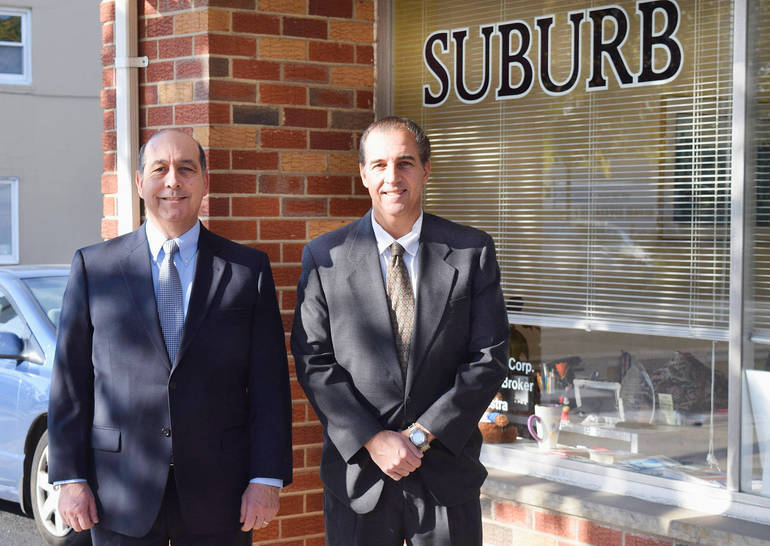 Industry veterans Don and Paul Lamastra of ERA Suburb Realty on East Second St. in Scotch Plains.