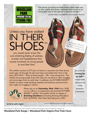 Powerful, Eye Opening 'In Their Shoes' To Be Displayed in Woodland Park