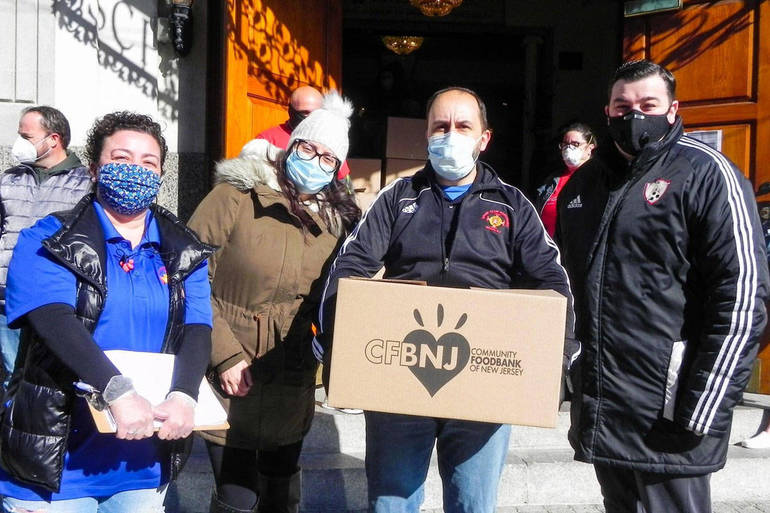 Ironbound Community Joins Together to Provide Emergency Food for 1,000 Families Impacted By COVID-19