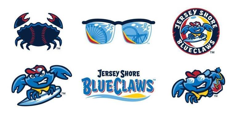 Lakewood BlueClaws unveil New Name and Logos