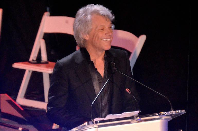 Sayreville native Jon Bon Jovi