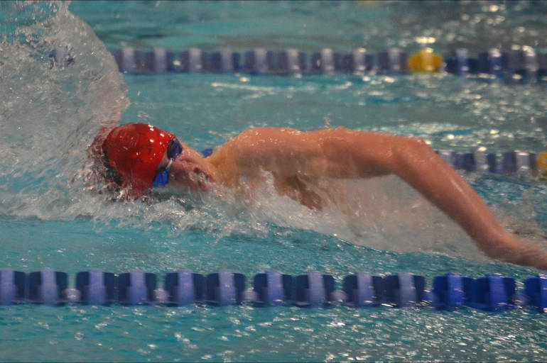 Joey Gurski of Woodbridge also swims for the Fanwood-Scotch Plains YMCA.