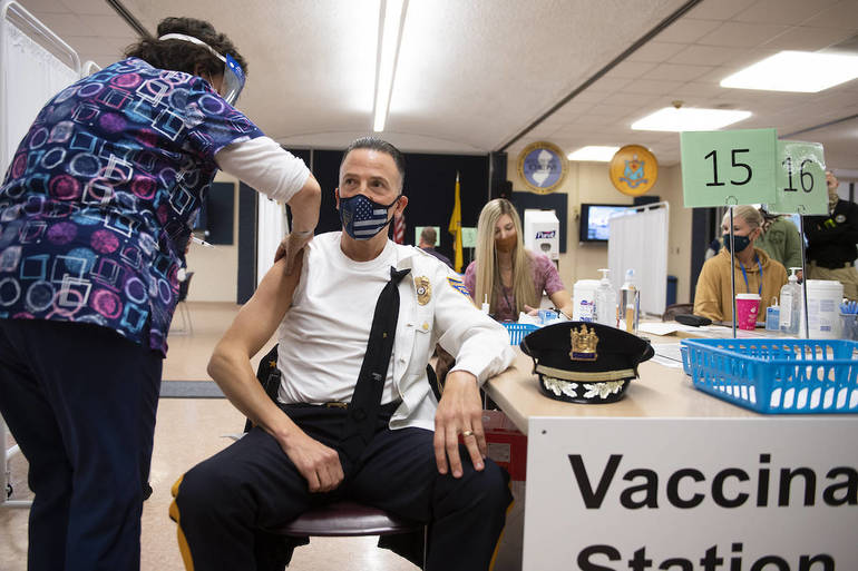 NJ Using 'Honor System' at Coronavirus Vaccine Sites Meant to Prioritize Frontline Workers