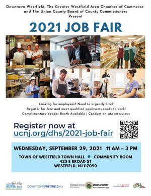 New Hire-on-the-Spot Job Fair in Westfield, September 29