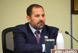 Scotch Plains Mayor Josh Losardo