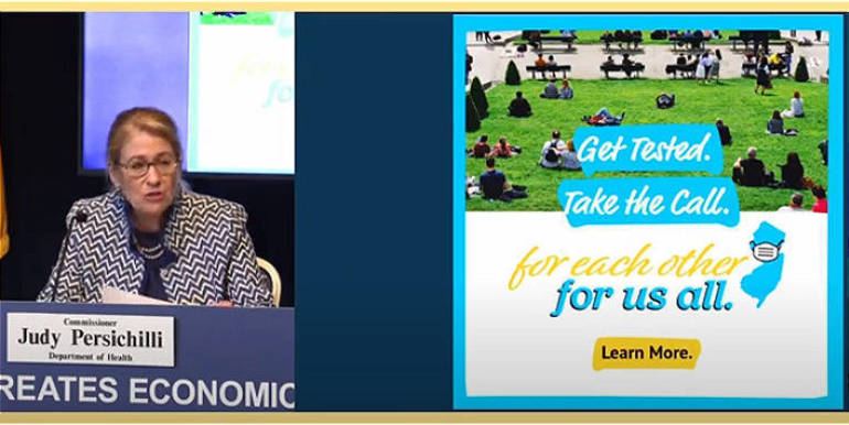 NJ State Health Commissioner Judy Persichilli