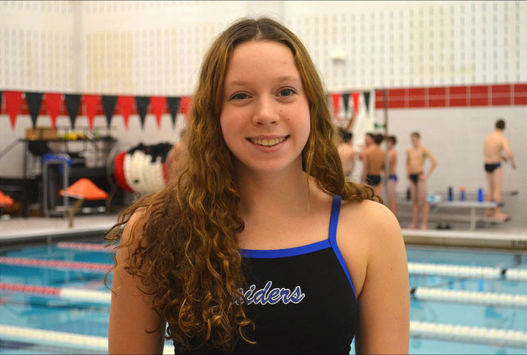 Scotch Plains-Fanwood swimmer Julia Bonhote