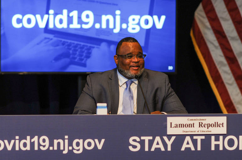 New Jersey Department of Education Commissioner Dr. Lamont Repollet