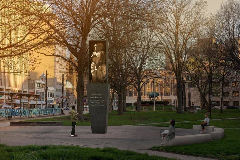 5 Artists Submit  Designs for Newark's Harriet Tubman Monument. What do you think?