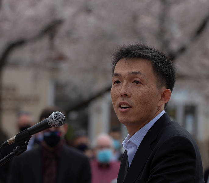 More Than 300 Attend Stop Asian Hate Rally in Ridgewood