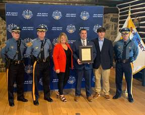 Kevin Palmer Named 2020 Civilian Of The Year By New Jersey State Police