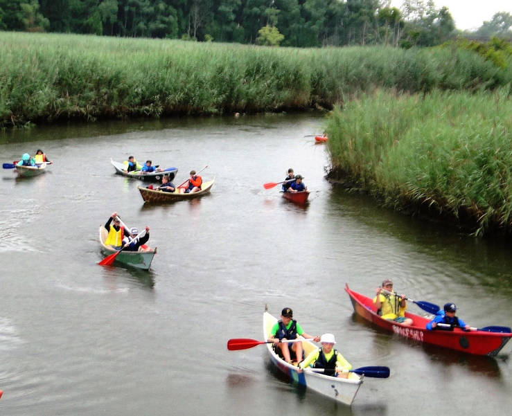 Kid's Canoe Programs on Local Rivers Offered by River Rangers