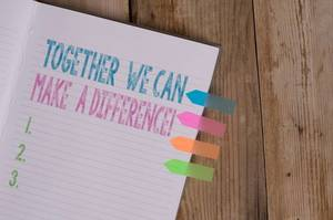 Together we can make a difference