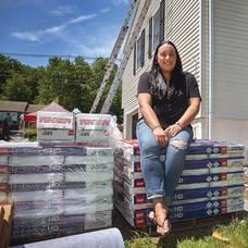 Montville Frontline Healthcare Worker Receives New Roof