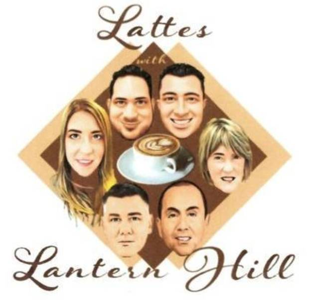 Lattes with Lantern Hill
