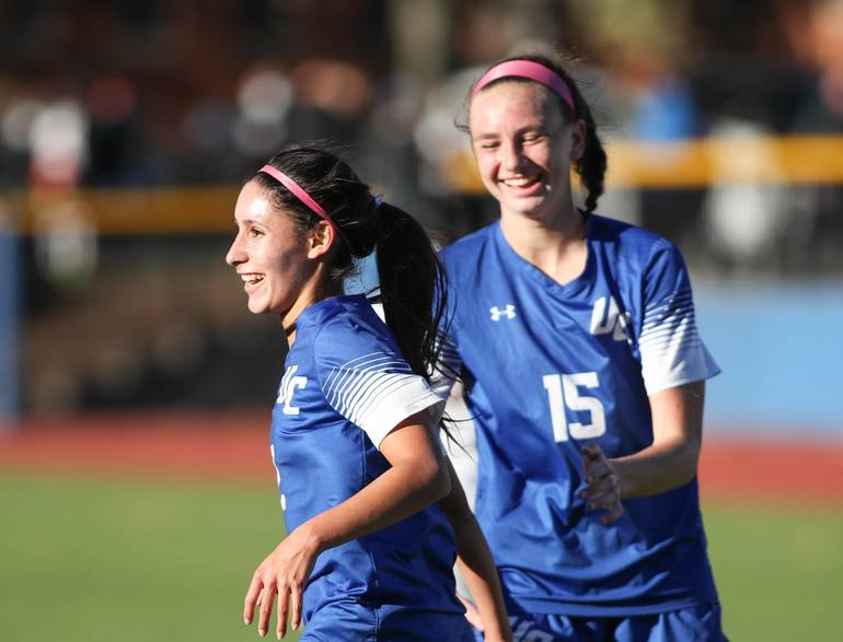 Girls Soccer: Union Catholic's Layden and Gunsiorowski Honored by NJ Girls Soccer Coaches Assocation