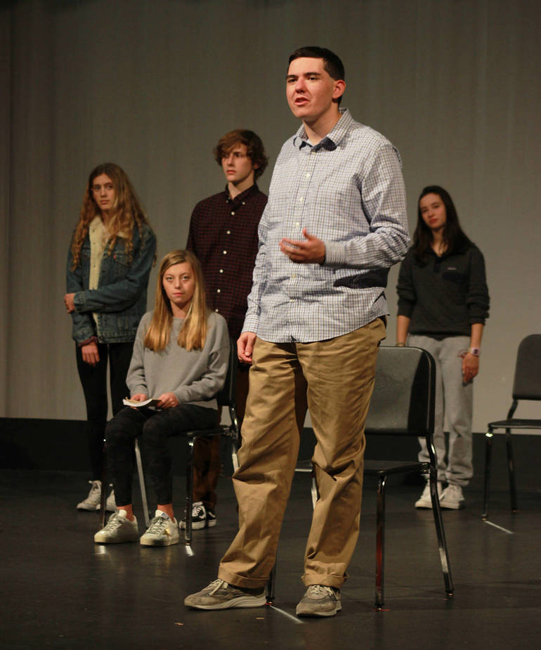 """The Laramie Project"" at Morristown-Beard School"