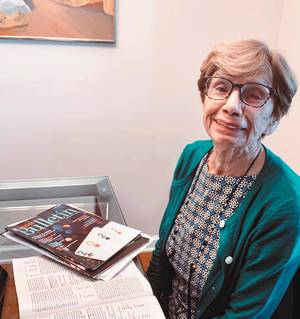 Lantern Hill Resident Finds Plenty to Keep Her Busy in Retirement