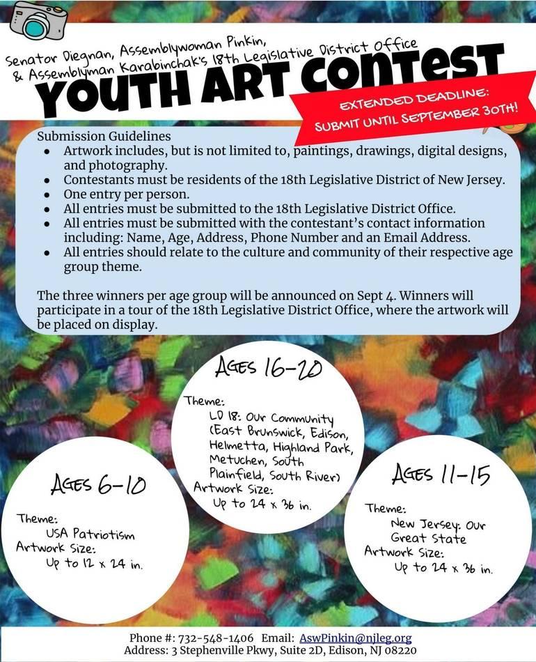 18th District Legislators Host Youth Art Contest