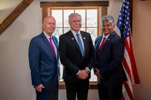 Senator Patrick J. Diegnan and Assemblymembers Rob Karabinchak and Sterley Stanley represent the 18th Legislative District.
