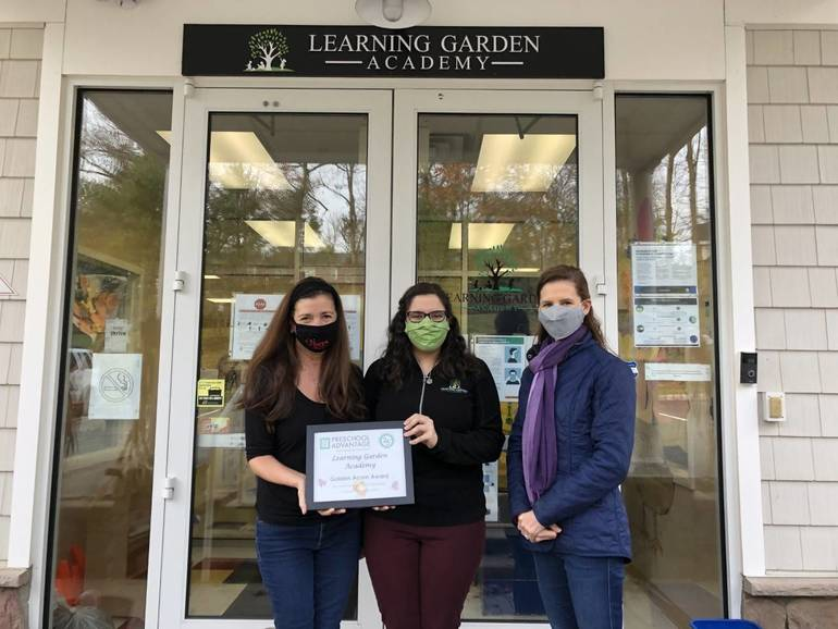 Preschool Advantage Recognizes the Learning Garden Academy for Excellence in Education