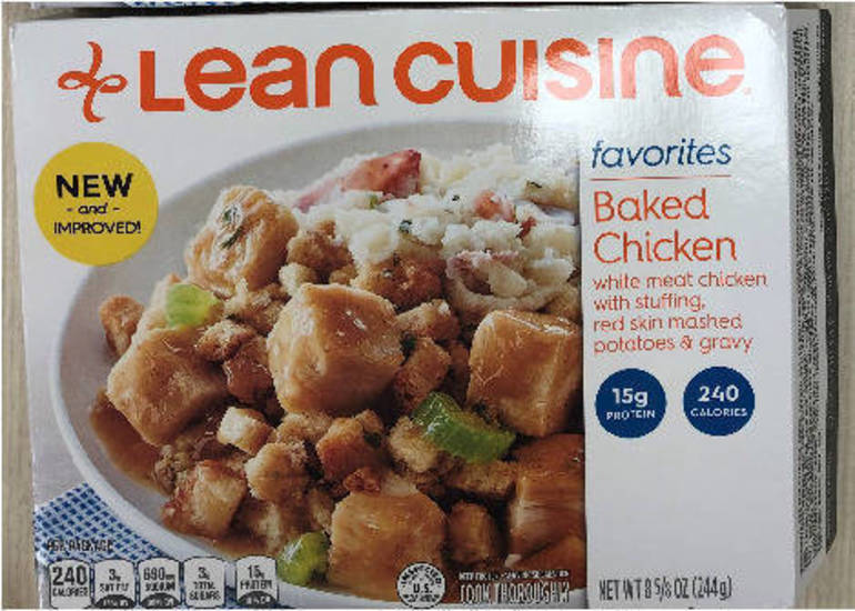 USDA Recalls Lean Cuisine Baked Chicken Meals