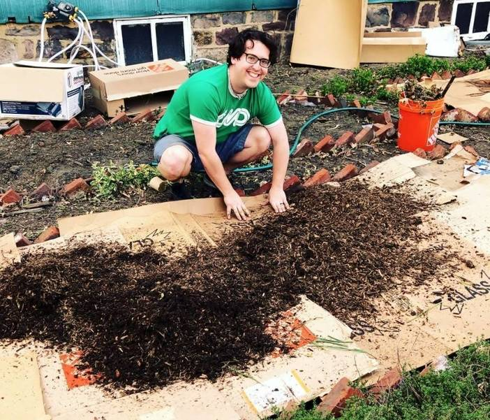Rutgers  Ph.D. Student Plants Seeds to Grow Urban Gardens in Camden