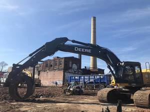 The former Leader Dye site in Paterson has been a target for redevelopment