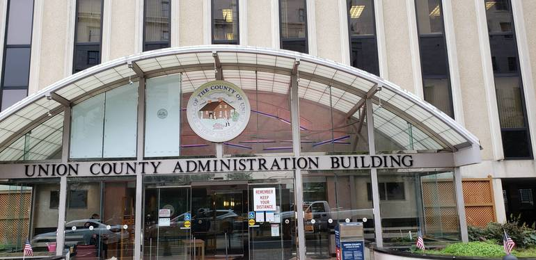 #LightUpMBC Union County Admin Building.jpg
