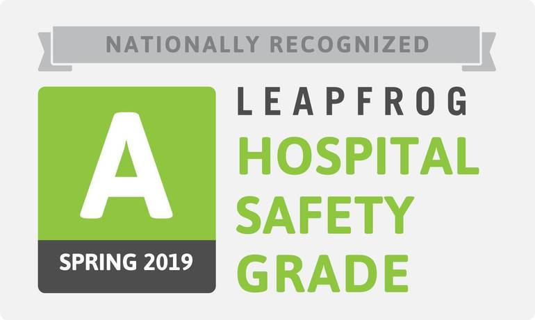 Leapfrog Patient Safety Award 2019