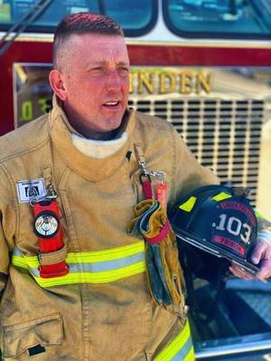 NJ Firefighter Raises Awareness About Organ and Tissue Donation