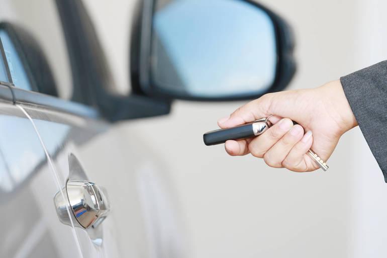 Locking a Car