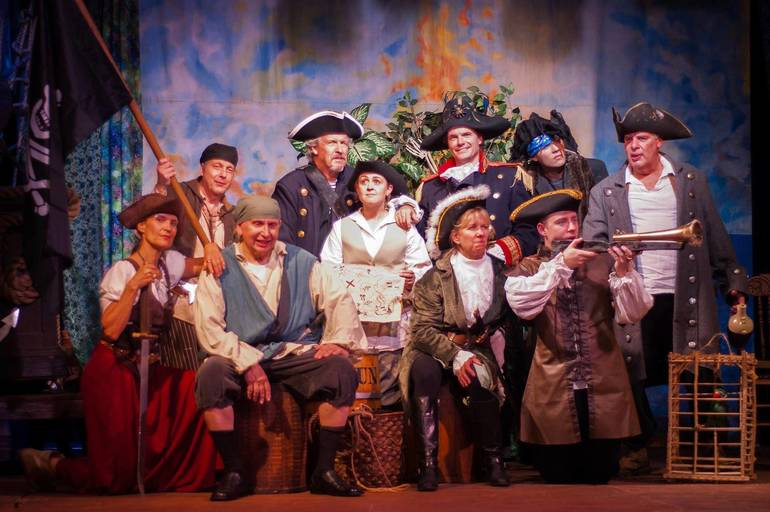 """The Lord Stirling Theater Company Performs """"Treasure Island"""" at Farmstead Arts Center in Basking Ridge October 5-14"""