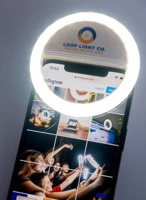 Area Business Grad Student Creates 'Loop Light' to Brighten Photos