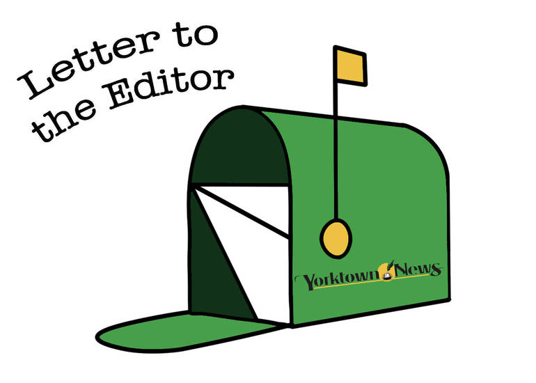 Yorktown Letter to the Editor