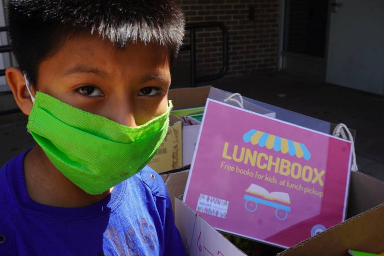 LunchBoox at Plainfield High School