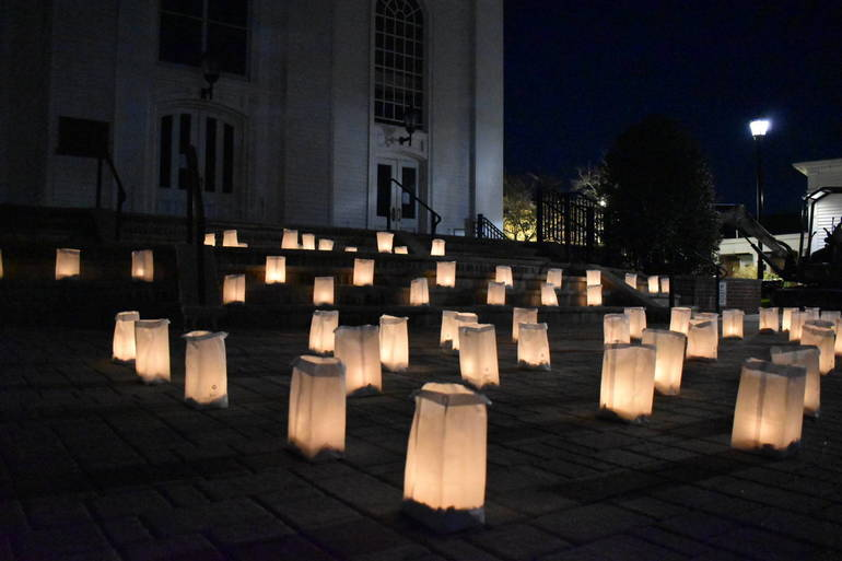 NJ Town's 'Be The Light' Luminary Project Raises Over $30,000 to Fight Hunger