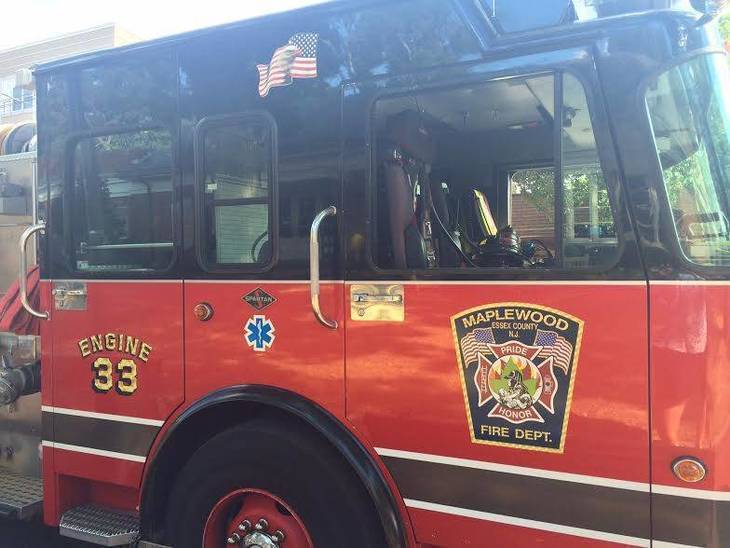 Montclair Firefighters Assist in Early Morning Fire in Maplewood