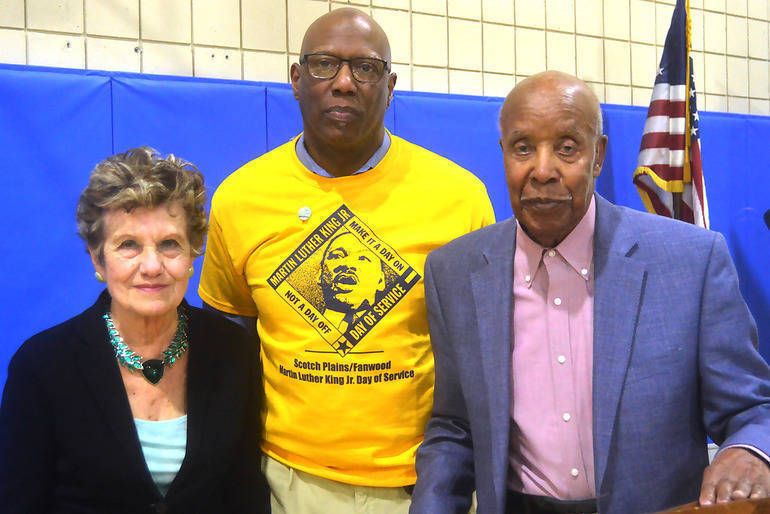 Marie Leppert, Lelan _McGee and Tuskegee Airman Malcolm Nettingham.png