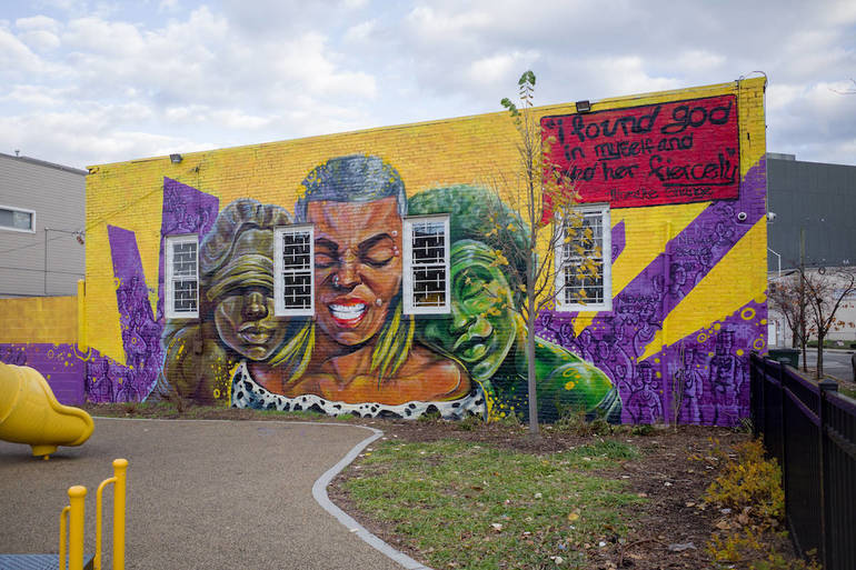 #MuralsforJustice Initiative Unveils New Works in Newark