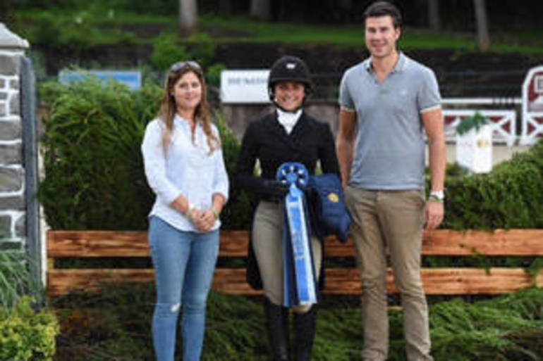 Ward and Cypress Win USHJA National Hunter Derby at Monmouth at the Team